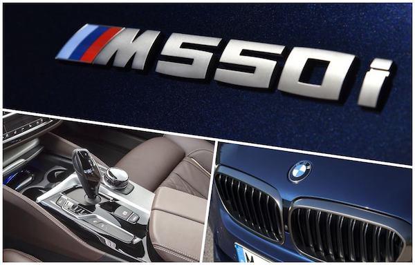 2021 BMW 550i xDrive Sedan